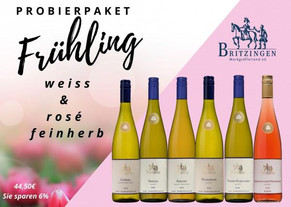 Probierpaket Frühling weiß+ rosé feinherb