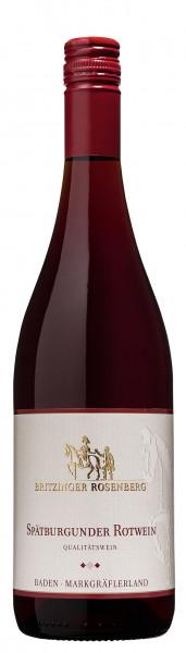 2015 Britzinger Rosenberg Spätburgunder Rotwein Qualitätswein
