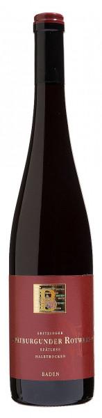Spätburgunder Rotwein Spätlese feinherb Premium