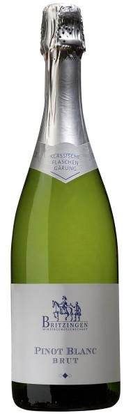 2014 Pinot blanc Sekt b.A. brut (Weißburgunder)