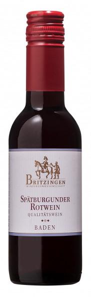 Spätburgunder Rotwein QbA 0,25 l