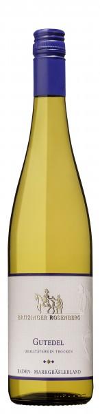 Britzinger Rosenberg Gutedel Qualitätswein trocken